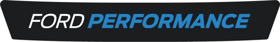 Ford Performance Logo - White/Nitrous