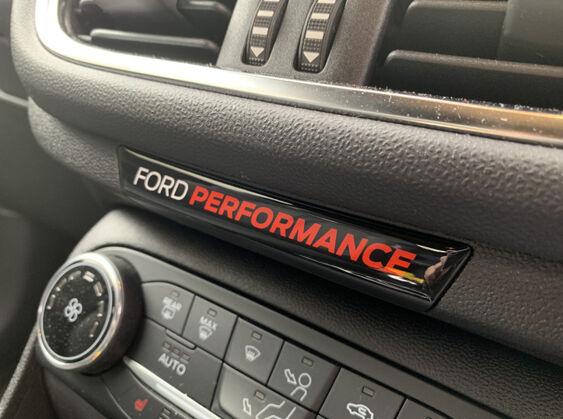 Fiesta mk8 airbag badge ford performance