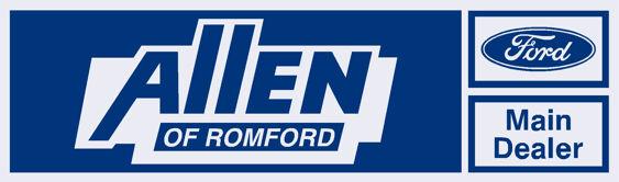 Allen Ford of Romford - Dealer Sticker