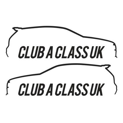 Club A Class Decals