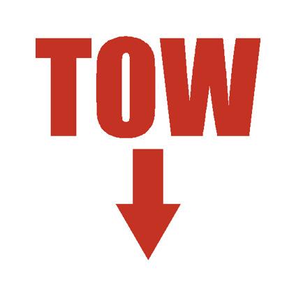 TOW Sticker CUT
