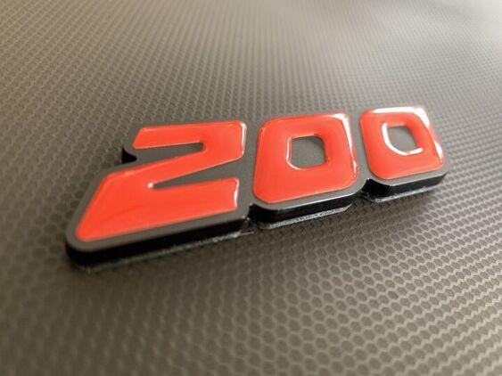 200 Perspex Badge 2