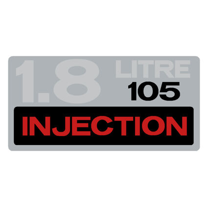 Silver with Red/Black/Chrome Logo - 105