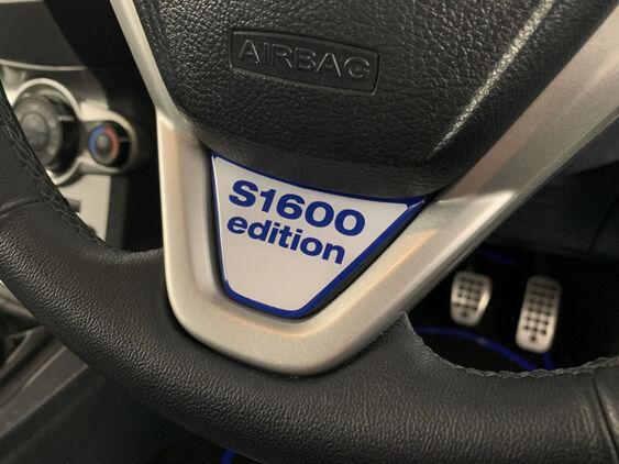 Fiesta Mk7 Lower Steering Wheel Badge - S1600 Edition
