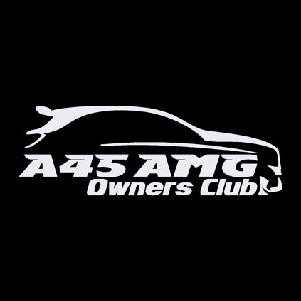 A45 AMG Owners Decals