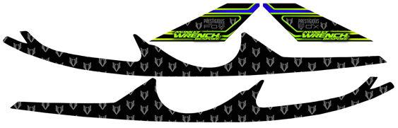 Headlight Badges - Rich Fox