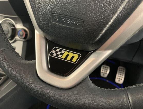 Fiesta Mk7 Steering Wheel Badge M Logo