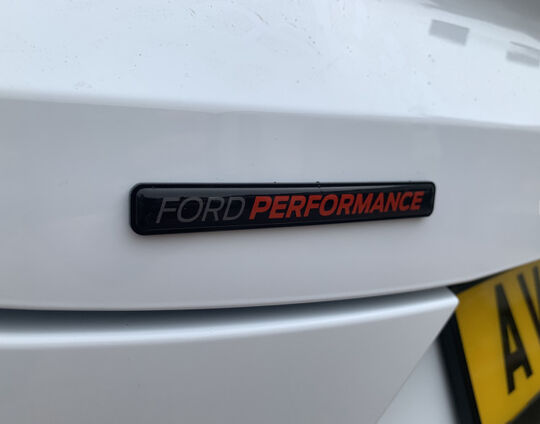 Ford Performance Perspex Mounted 120x12mm 1