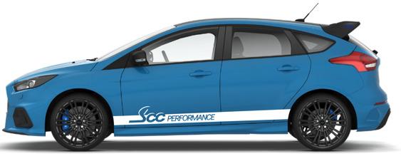 SCC Performance Side Stripes - PAIR