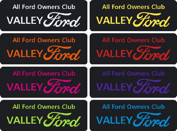 Valley Ford GEL badge