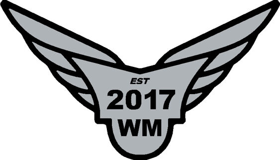 Wingmen - Gel Badge