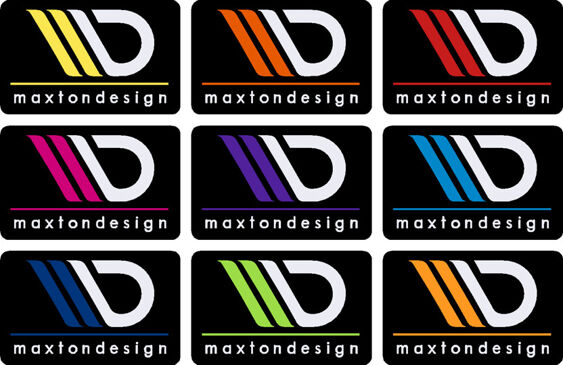 Maxton Design Gel badge