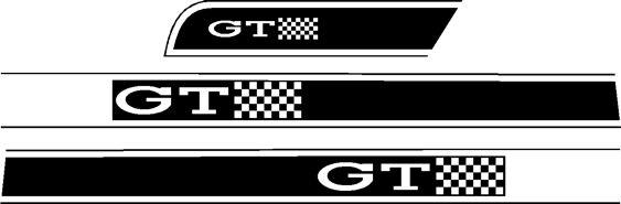 Escort Mk1 GT Stripekit
