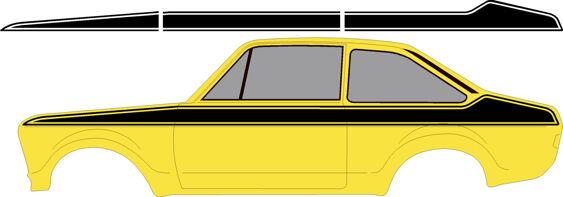 Allied Polymer 'Style' Side Stripes