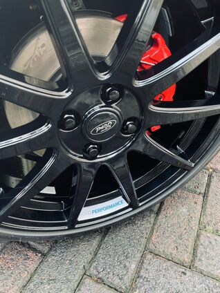 Ford Performance Wheel Decal 1