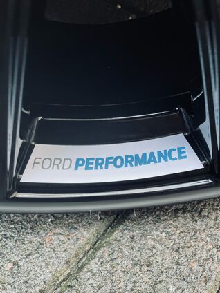 Ford Performance Wheel Decal 2