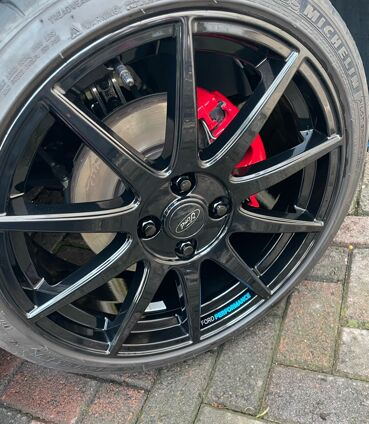 Ford Performance Wheel Decals