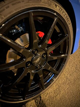 Ford Performance Wheel Decal 4