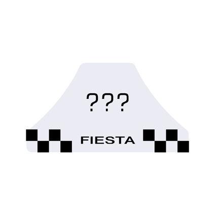 Fiesta Mk6 Anniversary Dash Badge