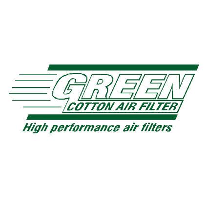 Green cotton air filter