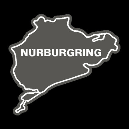 Nurburgring Track Decal - Original Style