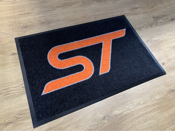 Workshop mat st logo orange