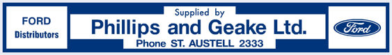 Phillips and geake st austell ford 280x40