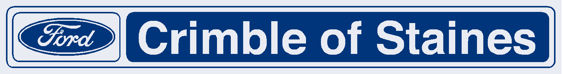 Crimble of staines ford dealer sticker 300x40mm