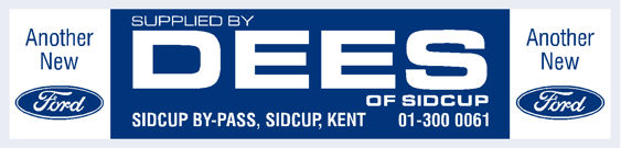 Dees of sidcup ford 270x65