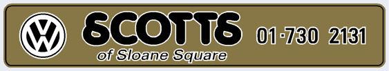 Scotts of sloane square london vw 275x50