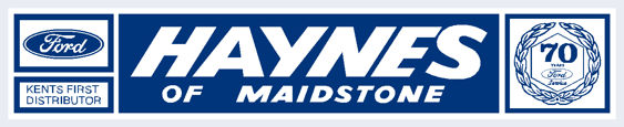 Haynes of maidstone ford 250x50