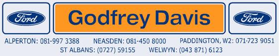 Godfrey davis st albans welwyn ford 250x50