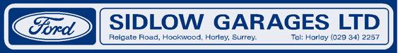 Sidlow garages horley surrey ford 298x40