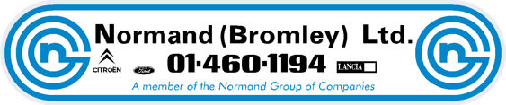 Normand bromley citroen ford lancia 330x70