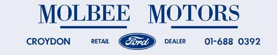 Molbee motors croydon ford 250x50