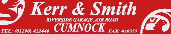 Kerr and smith cumnock vauxhall 295x60