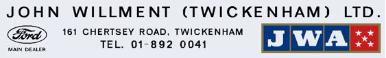 John willment twickenham ford 295x45