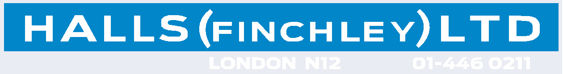 Halls finchley london 330x43
