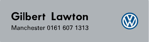 Gilbert lawton manchester vw 200x55