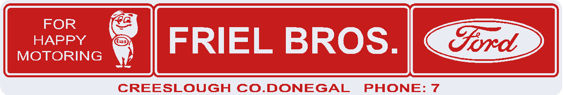 Friel brothers county donegal ford 315x53