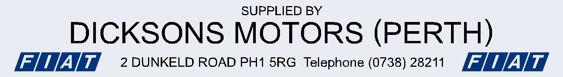 Dicksons motors perth fiat 290x40