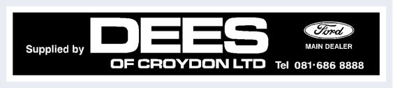 Dees of croydon black ford 310x70