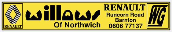 Willows northwich renault 280x52