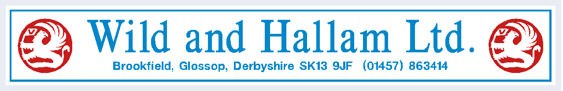 Wild and hallam ltd glossop derby vauxhall 295x48