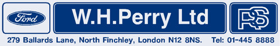 Wh perry finchley north london ford 250x42